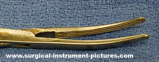 Surgical Instrument - Carmalt Clamp
