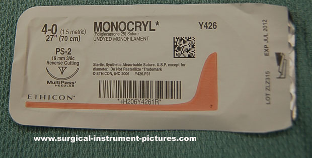 Surgical Suture - Monocryl
