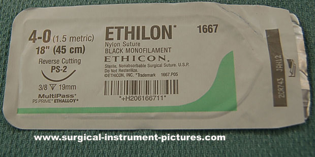 Surgical Suture - Nylon Ethilon